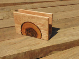 Wooden Napkin Holder by The Beehive India