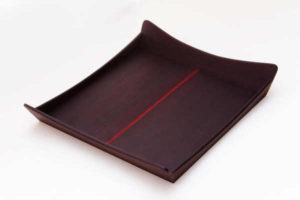 Rosewood Wooden Line Tray by The Beehive India