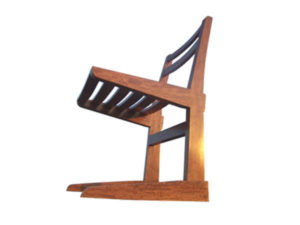 Wooden Kangaroo Chair by The Beehive India