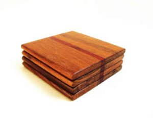 Wooden Coasters by The Beehive India