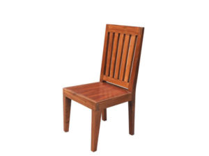 Wooden Straight Chair by The Beehive India