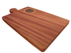 Wooden Inlay Chopping Board by The Beehive India