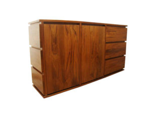 Wooden TV Cabinet by The Beehive India