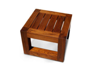 Wooden Stool by The Beehive India