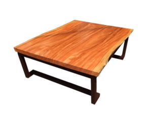 Neem Wood Coffee Table by The Beehive India