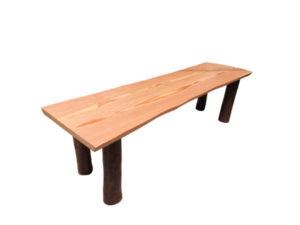 Organic Wooden Bench by The Beehive India