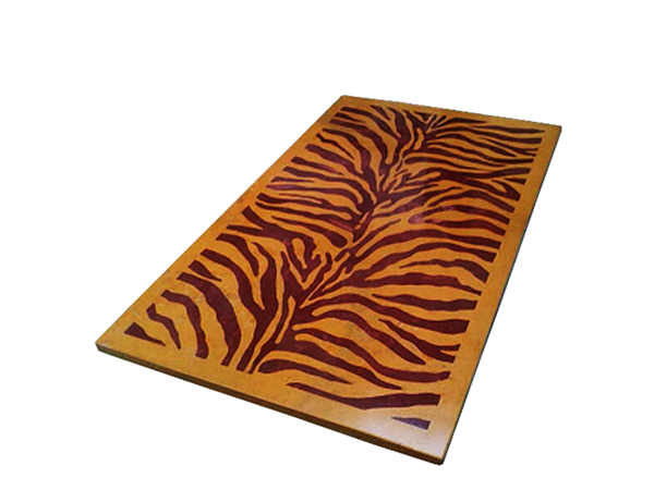 Stone Inlay Tiger Dining Table by The Beehive India