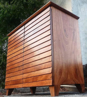 Wooden Kitchen Cabinet by The Beehive India