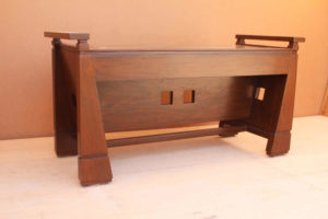 Wooden Small Bench by The Beehive India