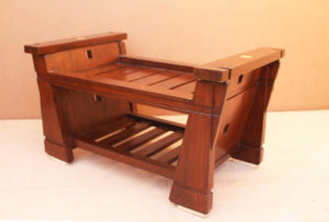 Wooden Printer Stand by The Beehive India